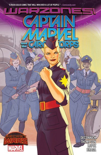 Captain Marvel and the Carol Corps (TPB) (2015)