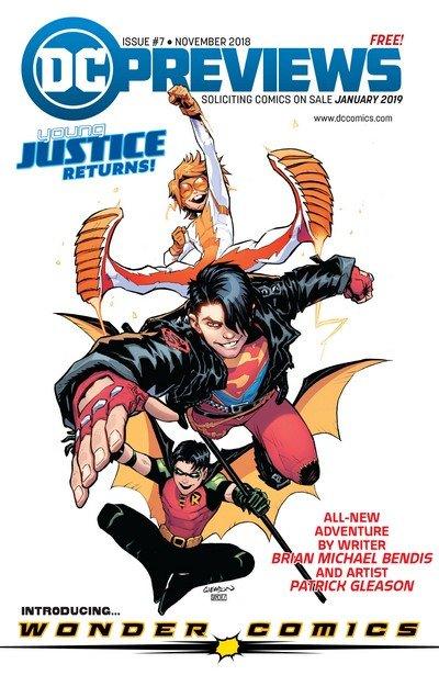 DC Previews #7 (Nov 2018 for Jan 2019)