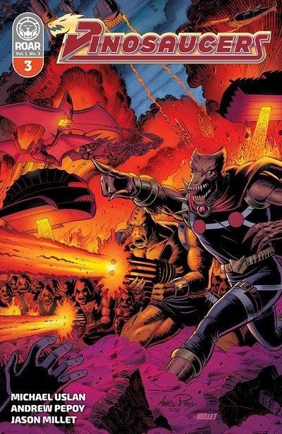 Dinosaucers #3 (2018)
