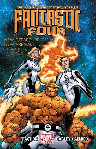 Fantastic Four Vol. 1 – New Departure, New Arrivals (TPB) (2013)