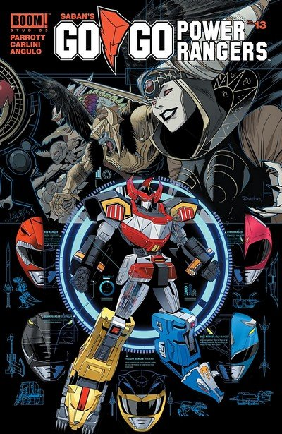 Go Go Power Rangers #13 (2018)