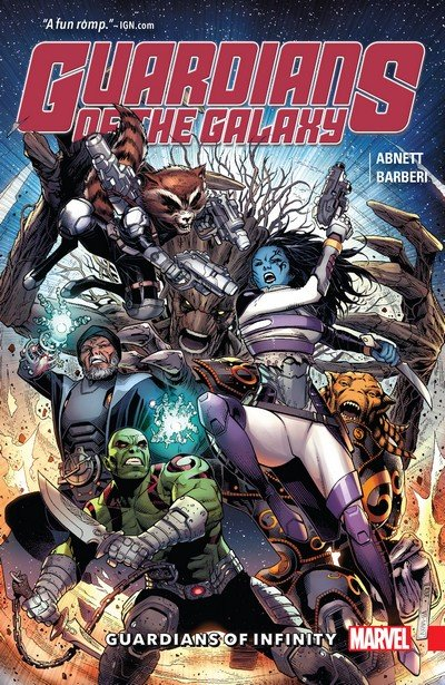 Guardians of the Galaxy – Guardians of Infinity (TPB) (2016)