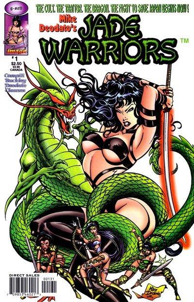 Jade Warriors #1 – 3 + Slave Of The Dragon (1999-2001)