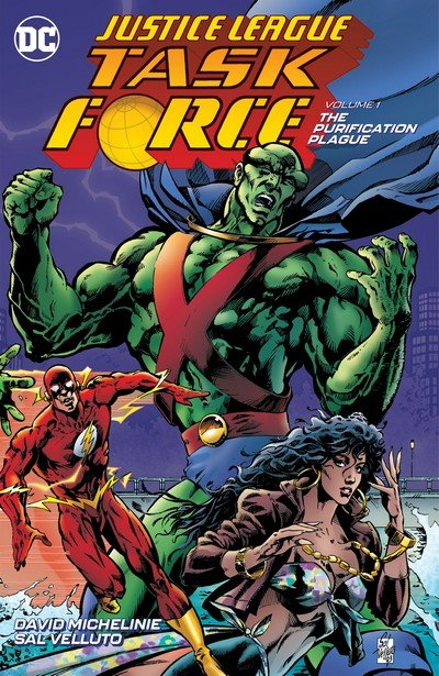 Justice League Task Force Vol. 1 – The Purification Plague (TPB) (2018)