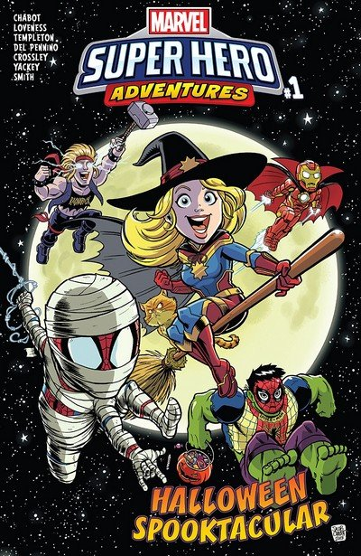 Marvel Super Hero Adventures – Captain Marvel – Halloween Spooktacular #1