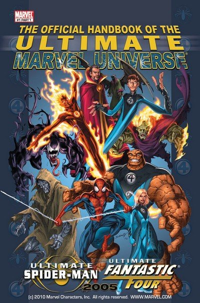 Official Handbook of the Ultimate Marvel Universe Vol. 1 #1 – 2 (2005)