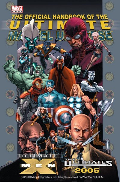 Official Handbook of the Ultimate Marvel Universe Vol. 2 #1 – 2 (2005)