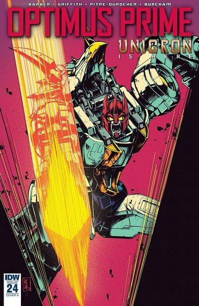 Optimus Prime #24 (2018)