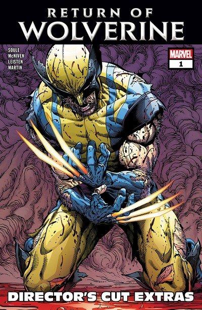 Return of Wolverine #1 – Director's Cut Edition (2018)