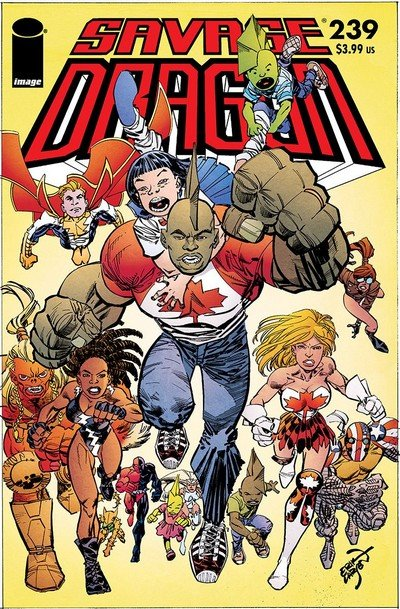 Savage Dragon #239 (2018)