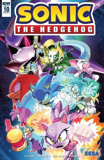 Sonic The Hedgehog 10 2018 Getcomics