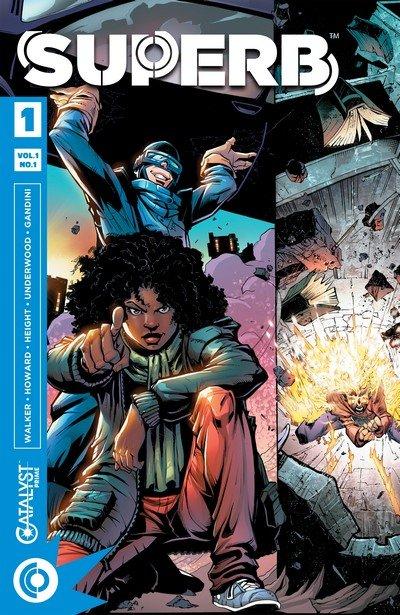 Superb #1 – 14 + TPB Vol. 1 – 2 (2017-2018)