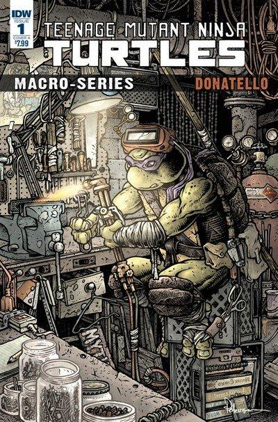 Teenage Mutant Ninja Turtles – Macroseries #1 – Donatello (2018)