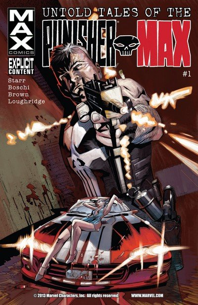 Untold Tales of Punisher Max #1 – 5 + TPB (2012)