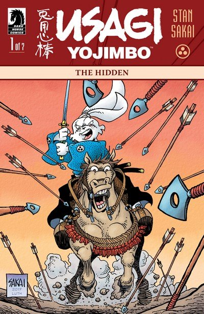 Usagi Yojimbo – The Hidden #1 – 7 (2018)