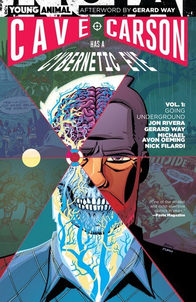 Cave Carson Has a Cybernetic Eye Vol. 1 – Going Underground (TPB) (2017)