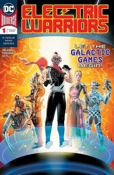 Electric Warriors #1 (2018)