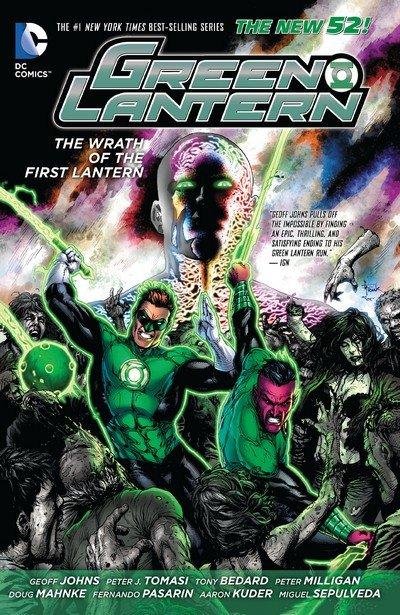 Green Lantern – The Wrath of the First Lantern (TPB) (2014)