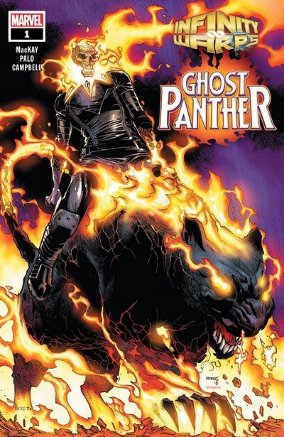 Infinity Wars – Ghost Panther #1 (2018)