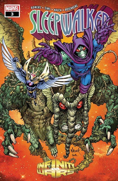 Infinity Wars – Sleepwalker #3 (2018)