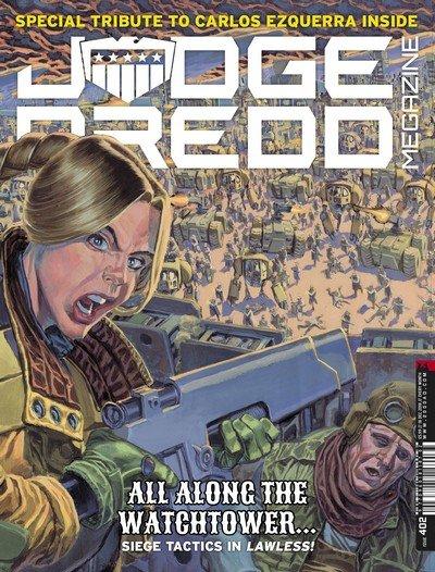 Judge Dredd Megazine #402 (2018)