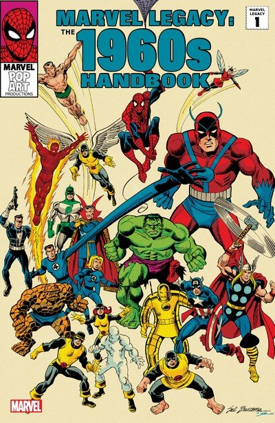 Marvel Legacy Handbook 1960s-1990s (2006-2007)