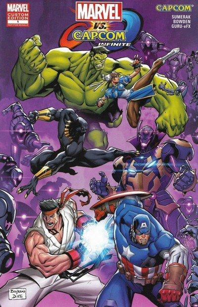 Marvel vs. Capcom Infinite – Infinite Horizons #1 (2017)
