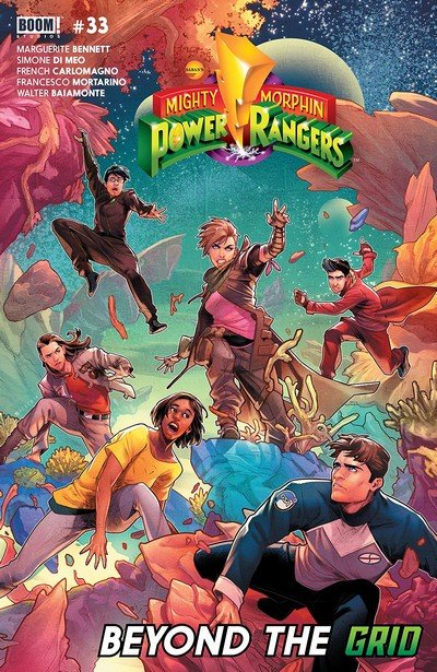 Mighty Morphin Power Rangers #33 (2018)