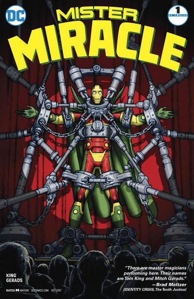 Mister Miracle Vol. 4 #1 – 12 (2017-2018)
