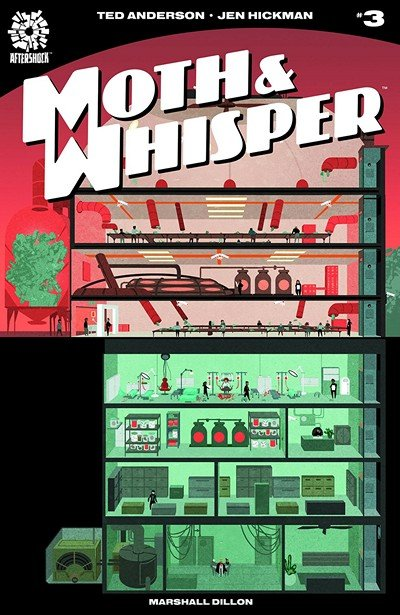 Moth And Whisper #3 (2018)