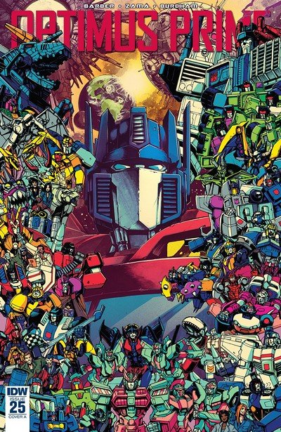 Optimus Prime #25 (2018)
