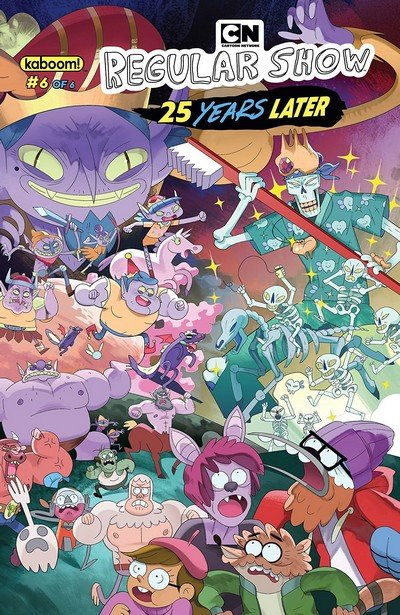 Regular Show – 25 Years Later #6 (2018)