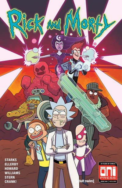 Rick And Morty #44 (2018)