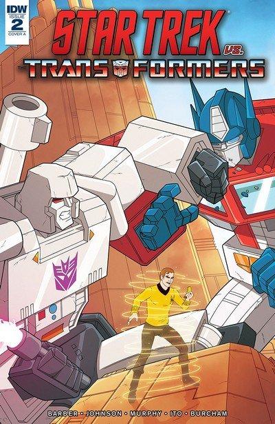 Star Trek vs. Transformers #2 (2018)