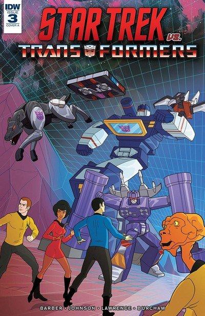 Star Trek vs. Transformers #3 (2018)