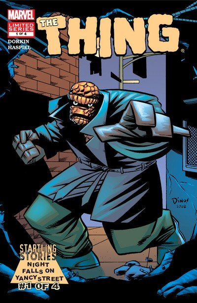 Startling Stories – The Thing – Night falls on Yancy Street #1 – 4 (2003)