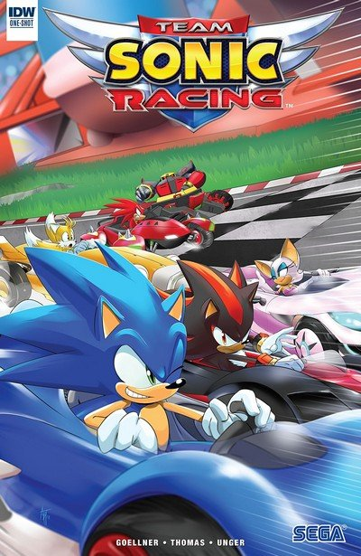 Team Sonic Racing #1 (2018) (One Shot)