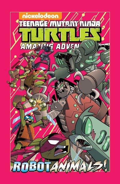 Teenage Mutant Ninja Turtles Amazing Adventures – Robotanimals (TPB) (2018)