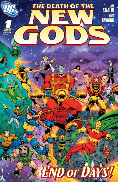 The Death of the New Gods #1 – 8 (2007-2008)