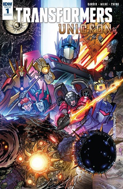 Transformers – Unicron – The End of the Universe (Story Arc) (2018)