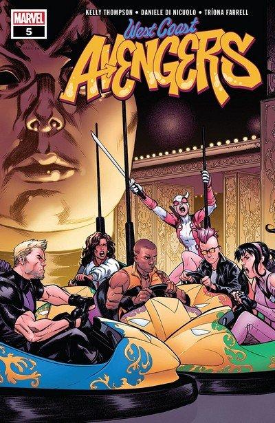 West Coast Avengers #5 (2018)