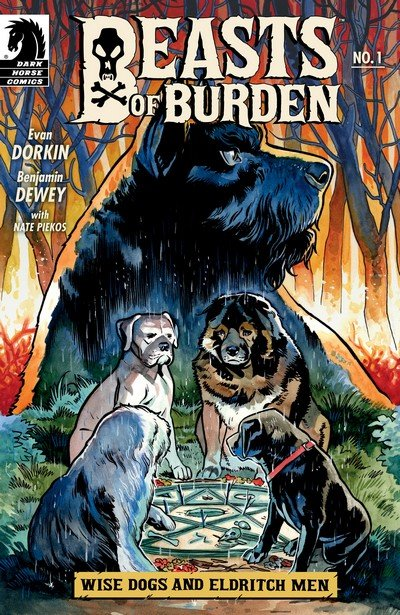 Beasts of Burden – Wise Dogs and Eldritch Men #1 – 4 (2018)