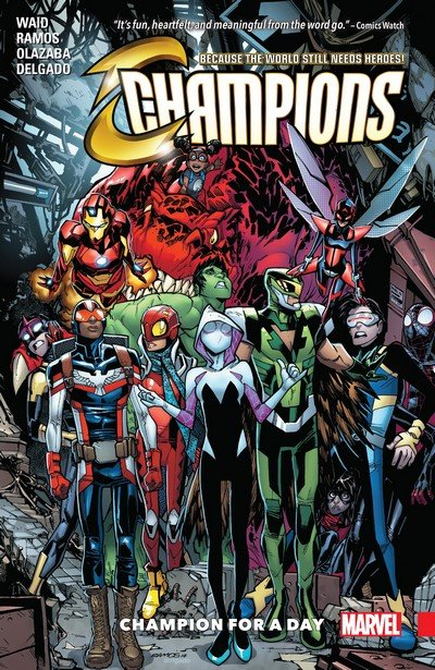 Champions Vol. 3 – Champion For A Day (TPB) (2018)