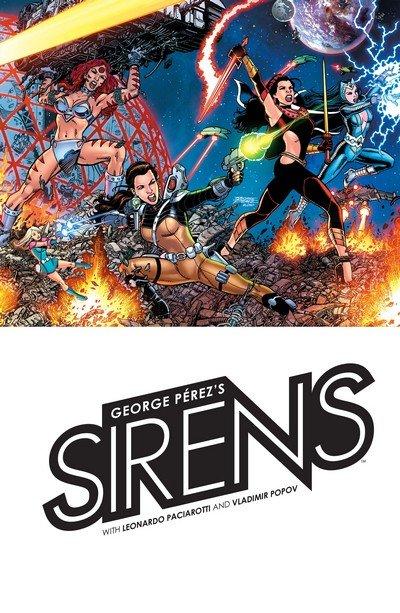 George Perez's Sirens (TPB) (2018)