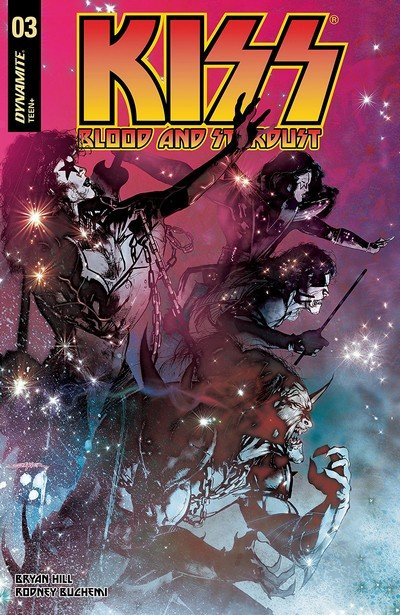 KISS – Blood And Stardust #3 (2018)
