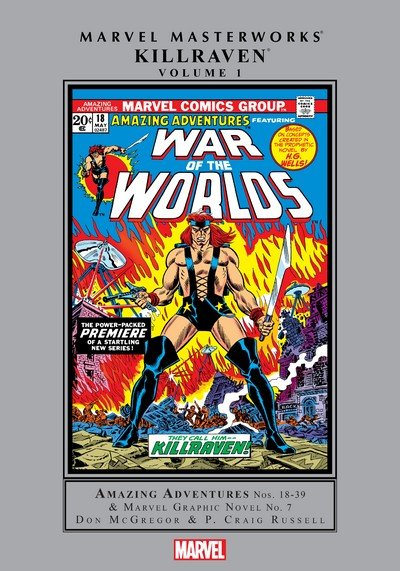 Marvel Masterworks – Killraven Vol. 1 (2018)