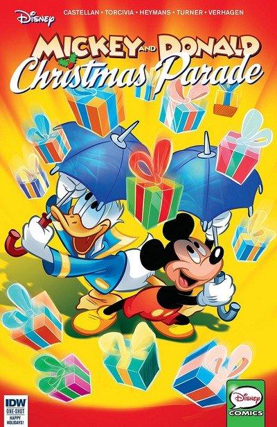 Mickey And Donald Christmas Parade #4 (2018)