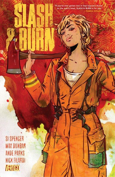 Slash & Burn #1 – 6 + TPB (2016)