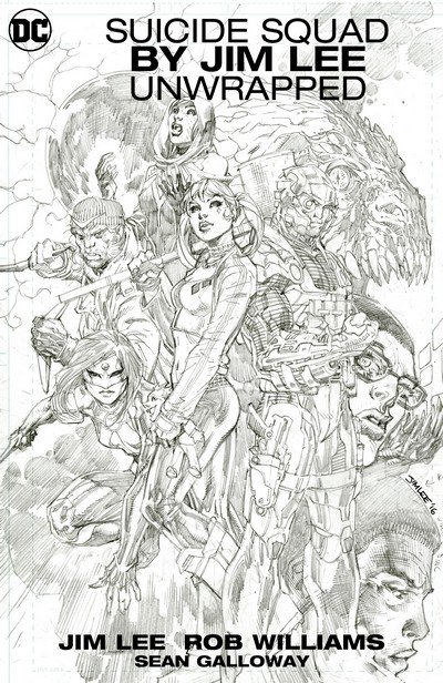 Suicide Squad by Jim Lee Unwrapped (2018)