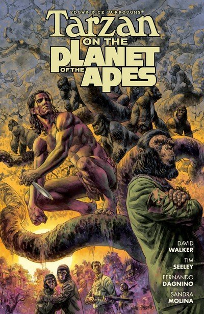 Tarzan on the Planet of the Apes (TPB) (2017)